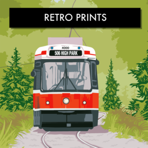 Retro Prints and Art