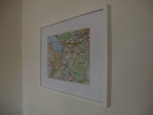Photograph of a regular framed 10 place Custom Lifemap.