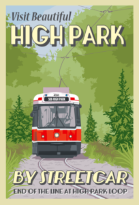 High Park Loop TTC Postcard