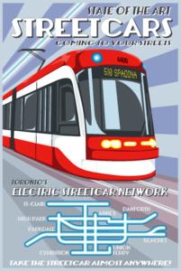 New Streetcar TTC Postcard