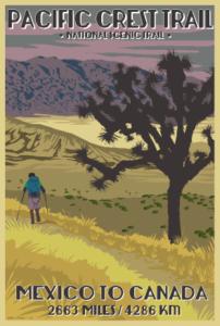 PCT Postcard Desert 2015