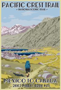 PCT Postcard Sierra