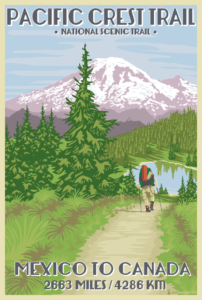 PCT Postcard Washington