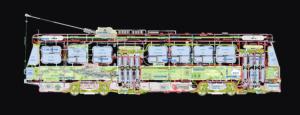 Streetcar Cartogram